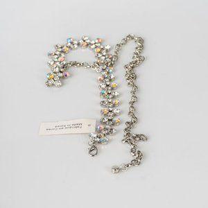 Accessories - NWT Crystal chain belt - L